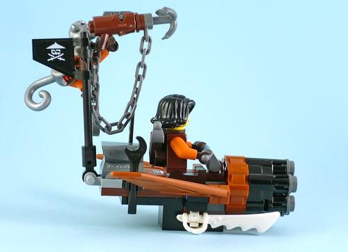 LEGO Nijago 70602 Jay's Elemental Dragon 08