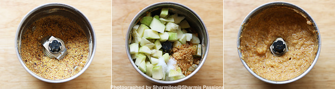 How to make Andhra Style Raw Mango Chutney - Step3