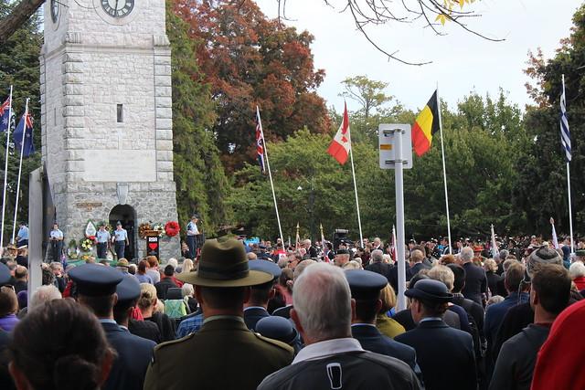 2016 ANZAC Day at Seymour Square, Marlborough NZ