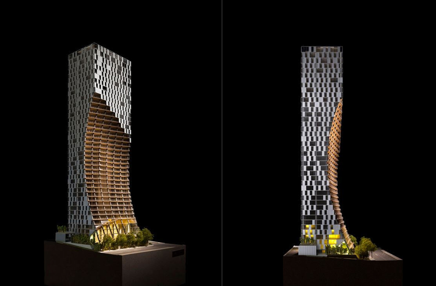 Mixed-Use Skyscraper in Vancouver design by Kengo Kuma
