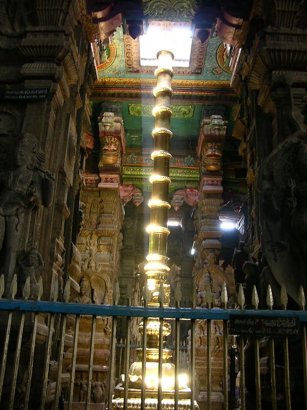 Sancta sanctorum del Templo de Sri Meenakshi