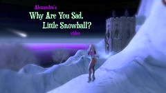 Alexandra's Why Are You So Sad, Little Snowball? video