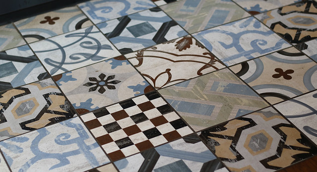 Beautiful tiles in Aromi