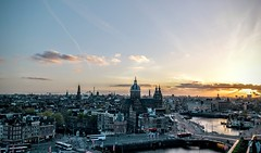 Amsterdam From SkyLounge Bar