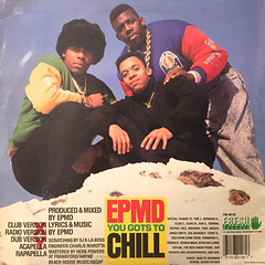 EPMD:YOU GOTS TO CHILL(JACKET B)