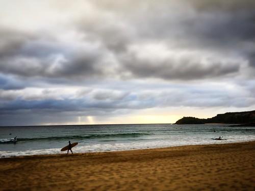 #6o'something #manly #beach #goodmorning #sixoclock #morningsatthebeach
