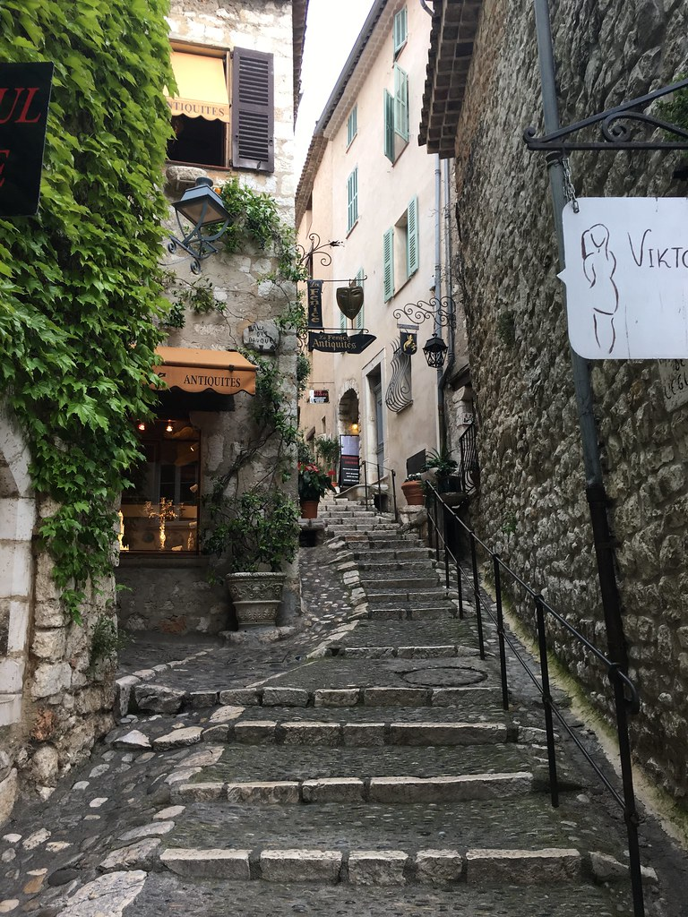 Beautiful medieval town St. Paul de Vence
