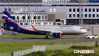 Aeroflot A320-214 msn 7071