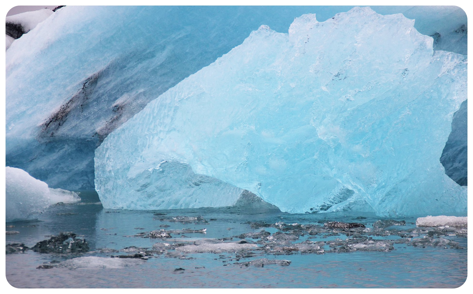 glacier lagoon ice iceland