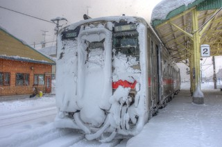 Otoineppu Station on JAN 04, 2016 (6)