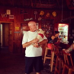 Couple of photos that I forgot to post while in Belize #portrait #puppylove #Belize #bar