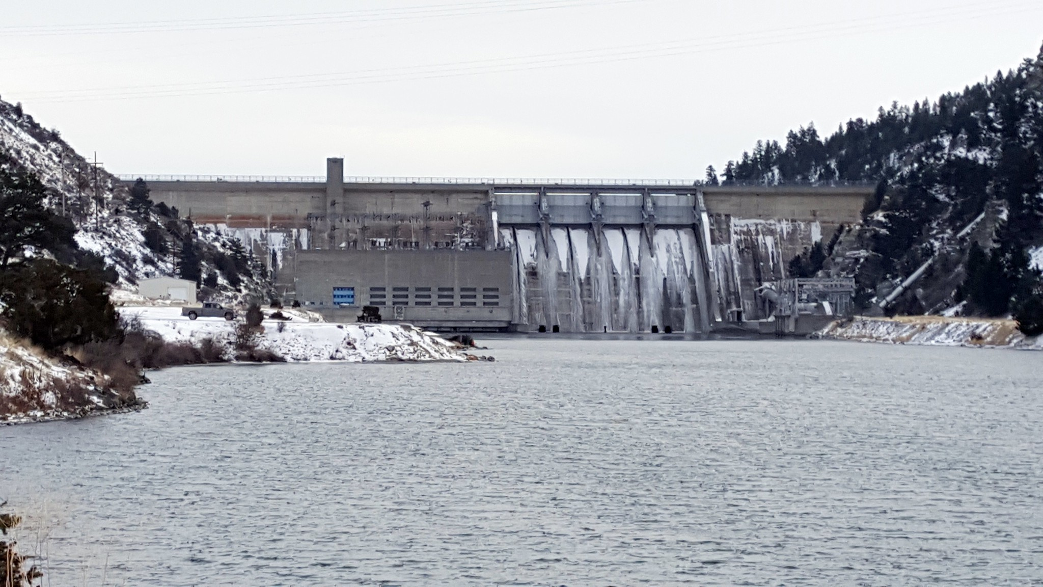 Canyon Ferry Dam