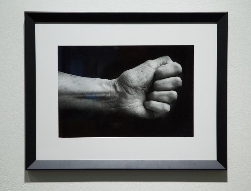 Make a Fist Gelatin Silver Print 2005/2014 $275