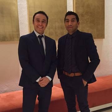 Crisanto Grajales y Eugenio Chimal
