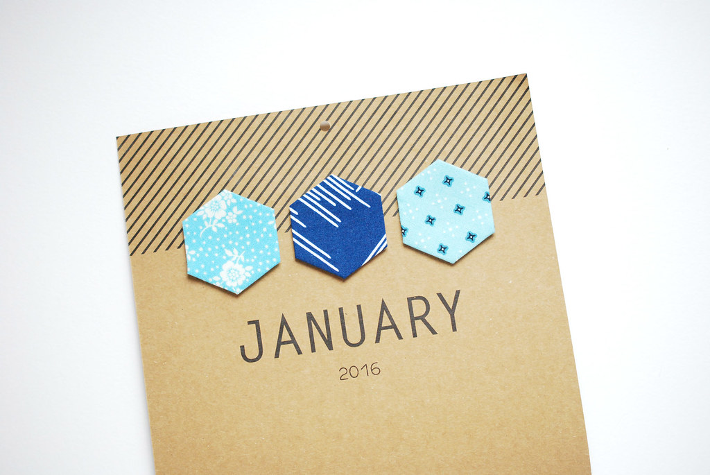 Hexagon Calendar