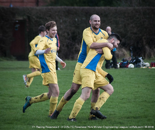 Cliffe FC 2ndXI 3 - 2 F1 Racing Reserves 23Jan16