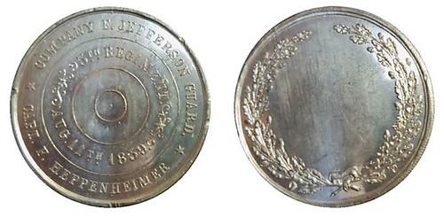 1859 Jefferson Guard medal