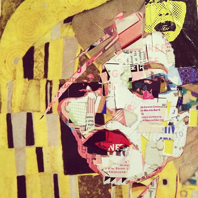 Beauty In Chaos Collage Artworks by Derek Gores