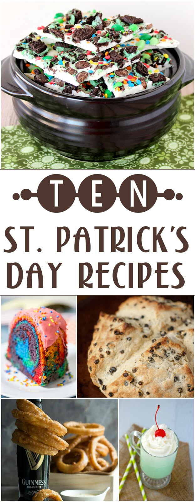 10 St. Patrick's Day Recipes!