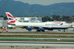 G-CIVJ Boeing 747-436 of British Airways
