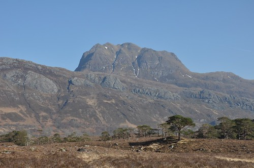 Slioch from Glen Grudie