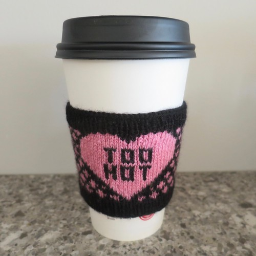 Iron Craft '16 Challenge #2 - Too Hot Coffee Sleeve