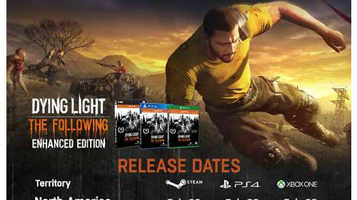 Dying Light: The following coming out this February