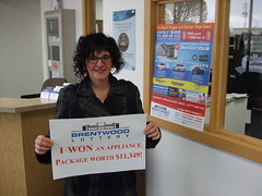Appliance Package Winner: Shelly Simmerson