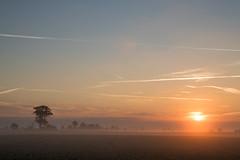 Sunrise a Misty morning