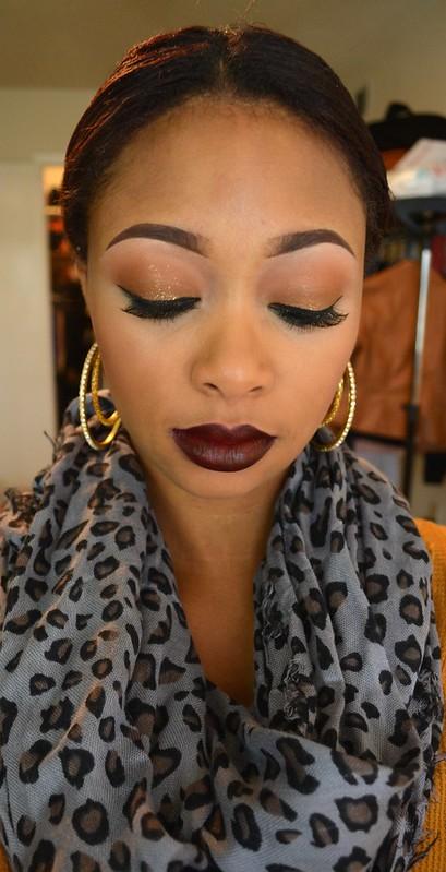 natural smokey eye baton rouge makeup artist