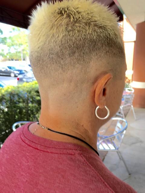Shaved Sides