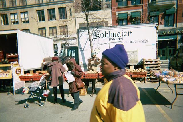 Kohlmaier, Union Square market