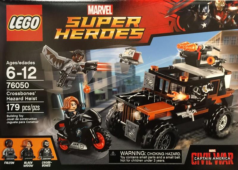 LEGO Super Heroes 2016: 76050 - Crossbones' Hazard Heist