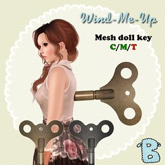 Wind-Me-Up dolly key