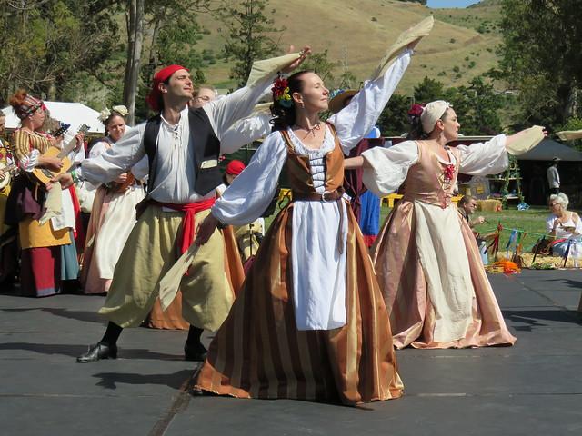 Balzare Dancing by Jean Martin