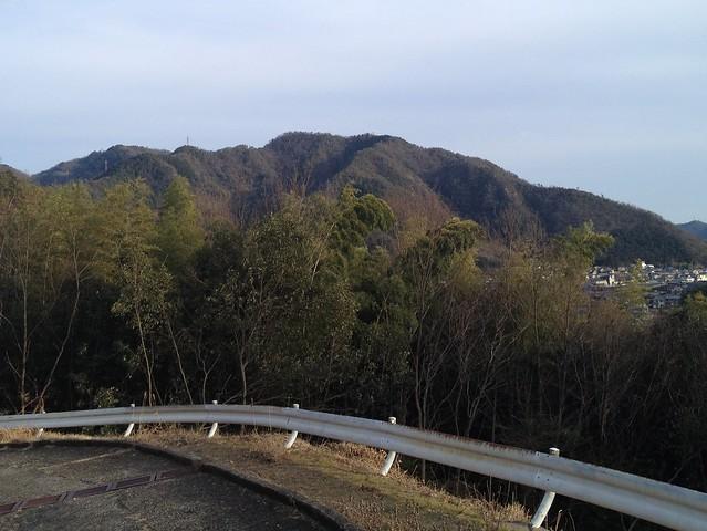 眉山 林道から百々ヶ峰