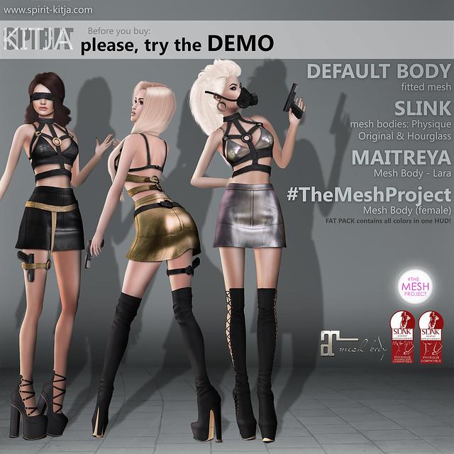 SPIRIT & KITJA - Spy outfit