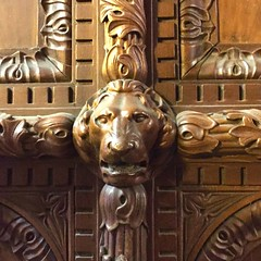 Chicago Cultural Center> Entrance Door detail