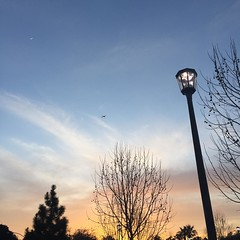 A photo can never really capture the beauty of a sunset yet I keep trying... #california #paloalto