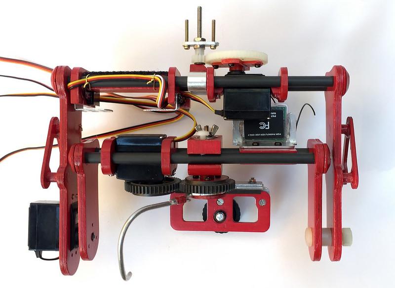 M3 cradle partilly assembled