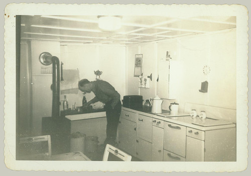 Man in the kitchen