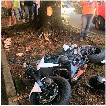 acidente motociclista