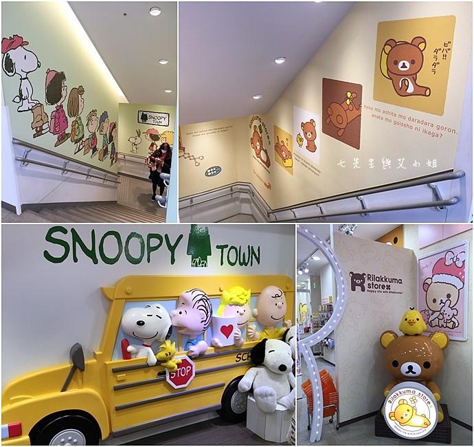 6 東京 原宿 表參道 KiddyLand 卡娜赫拉的小動物 PP助與兔兔 史努比 Snoopy Hello Kitty 龍貓 Totoro 拉拉熊 Rilakkuma 迪士尼 Disney
