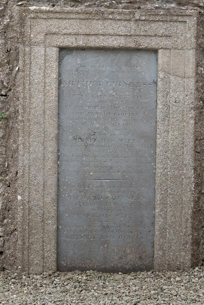 Guinness-gravestone
