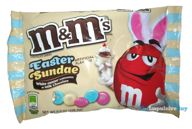 Review easter sundae m m 39 s the impulsive buy for Fast food places open on easter sunday