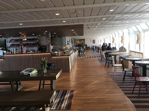 4 Mar - Inside Kong Harald - Cafe