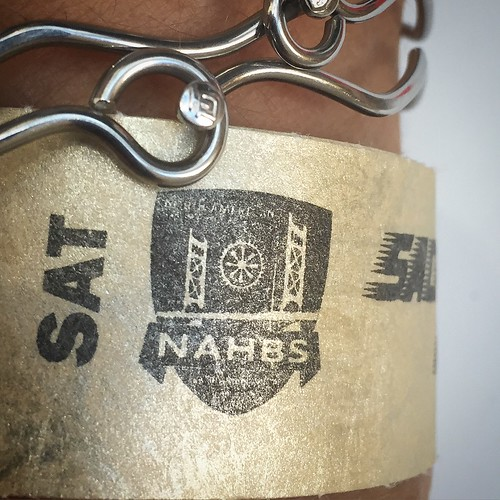 Entry wrist band