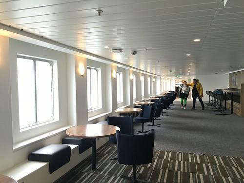 4 Mar - Inside Kong Harald - Relaxing area