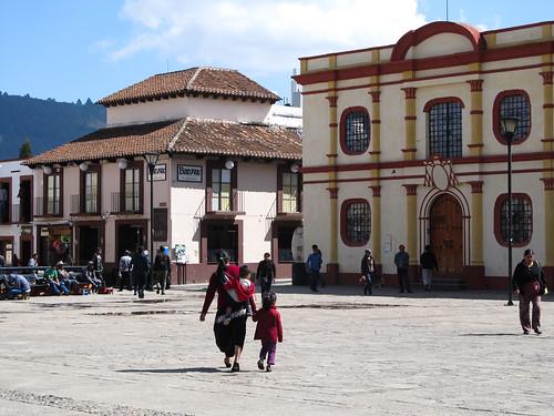 San Cristóbal de las Casas: la Place de Cathédrale