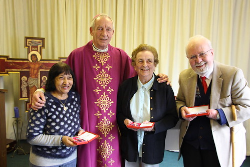 160310 - Three Diocesan Medals and a Farewell at the CCF